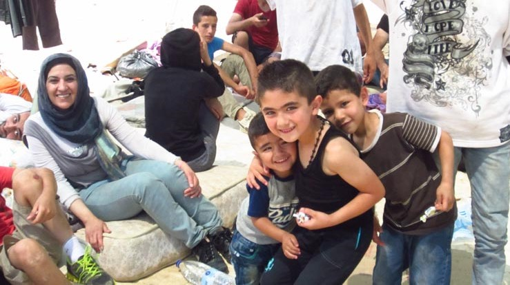 GRE 2015 Chios Syrian refugees boys 002