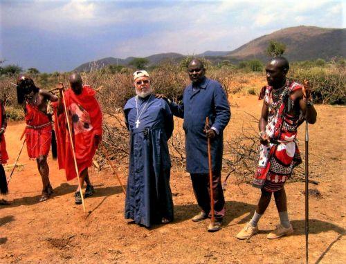 Isä Johannes Maasaimaassa