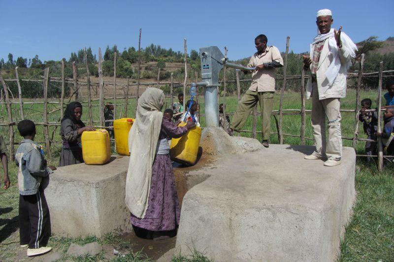 Kaivolla Etiopia 2014