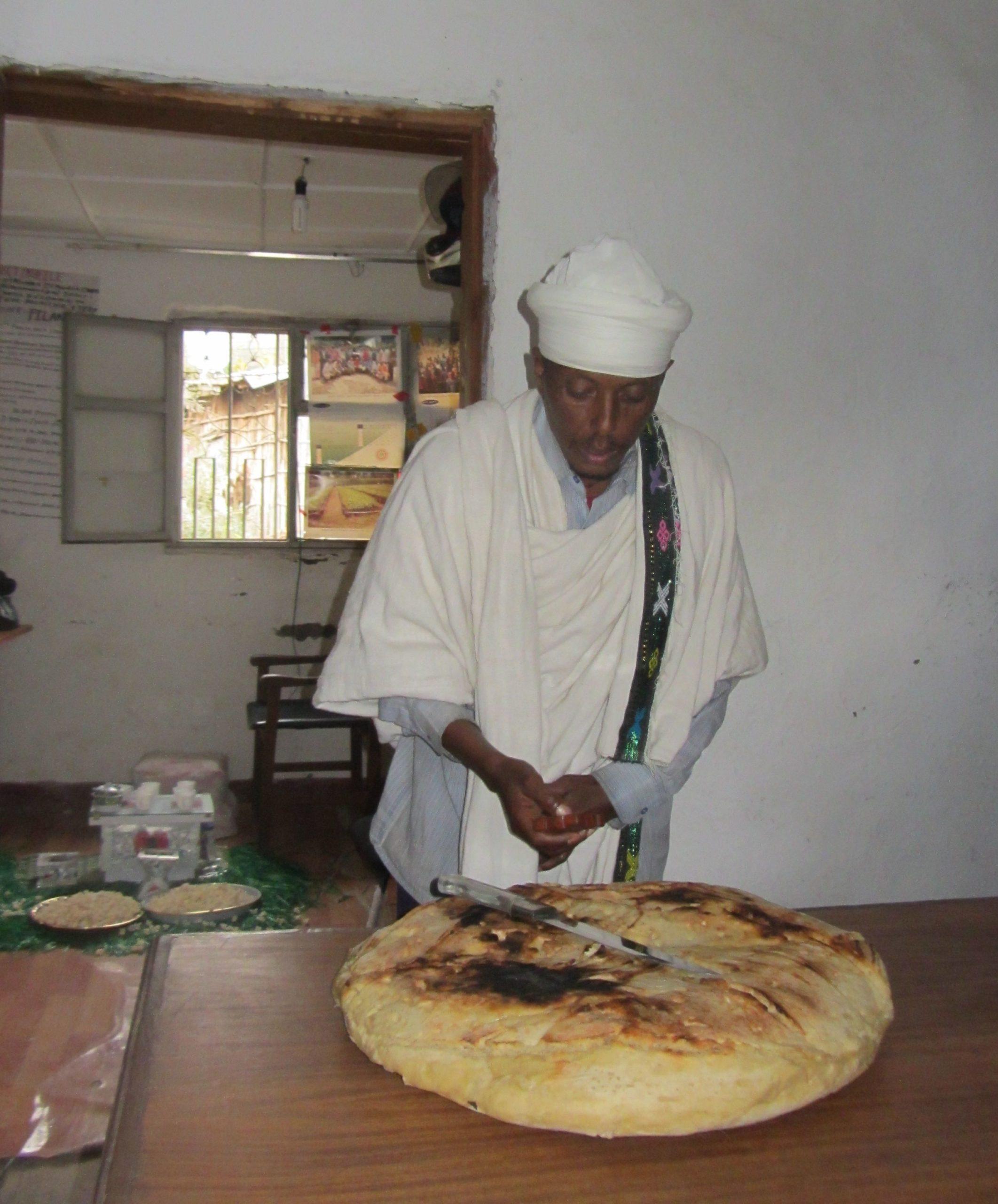 Leivän siunaus Etiopia 2014