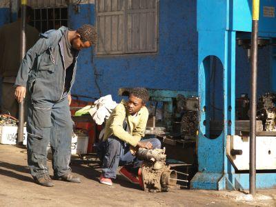 Pojat töissä Etiopia
