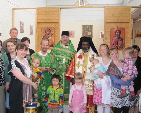 Filantropia vierailee seurakunnissa